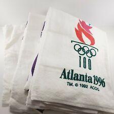 1996 Olympics Atlanta Large Beach Towel Olympic Games USA VTG 90s Lot of 3 ACOG