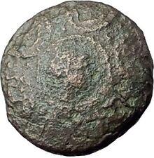 PHILIP V Macedonia King 200BC Rare R1 Perseus Shield Helmet Greek Coin i61471