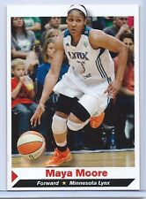 "MAYA MOORE 2014 ""1ST EVER PRINTED"" SI ""1 OF 14"" BASKETBALL CARD! LEGEND!!"