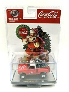 M2 Machines Coca Cola Christmas '76 GMC High Sierra 15 4x4 - Red - SC03  20-21