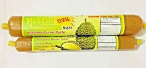 Durian Paste Monthong Tropical Fruit Dessert Sweets No Cholesterol 100g / 200g