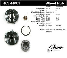 Axle Bearing and Hub Assembly Repair Kit-FWD Front Centric 403.44001