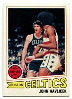 1977-78 Topps NBA John Havlicek Card #70 Boston Celtics Ohio State