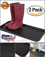 Tray Boot Shoe umbrella Mat Floor Store Wet Dry Muddy Snowy Footwear Weatherproo