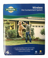 PetSafe Wireless Containment System Pif-300 Pif-275 Electronic Dog Fence Read
