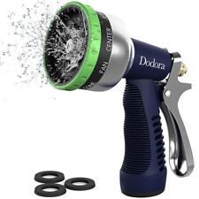 Dodora Garden Hose Nozzle Spray Nozzle Heavy Duty Metal Hand Hose Sprayer High P
