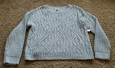 NWT Old Navy Sweater size XL extra large - mint blue/green - Lofty Wool Cable
