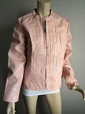 BNWT Womens Sz 20 Crossroads Brand Pink Long Sleeve Peplum Style Jacket RRP $80