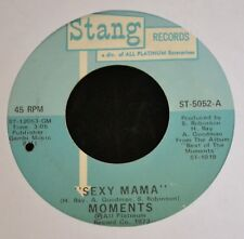 Moments Stang Records 5052 Sexy Mama and Where Can I Find Her