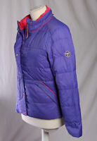 PUFFA Vintage Retro Quilt Jacket Feather Down Purple Size 12 VGC!