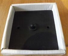 FLAT PLATE 1G TOGGLE SWITCH -MATT BLACK