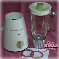 █ BRAUN MX32 🔴 WIE NEU 🔴 STANDMIXER Mixer Küchenmaschine MX KM 32 31 3
