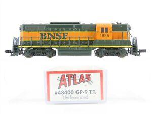 N Scale Atlas 48400 BNSF Railway EMD GP9 Diesel Locomotive #1685 - Custom