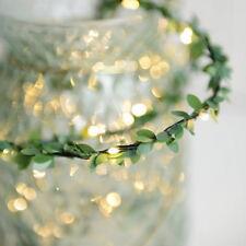 Flower Leaves LED String Lights Battery Powed Lamp Xmas Garden Home Decor HC