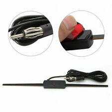 Auto Car Hidden Amplified Antenna 12V Electronic Stereo AM/FM Radio US STOCK