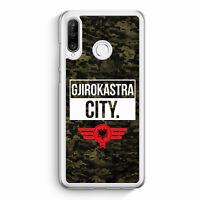 Gjirokastra City Camouflage Albanien Huawei P30 Lite Hülle Motiv Design Alban...