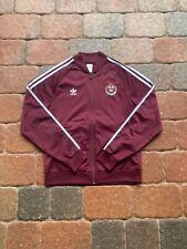 Adidas Harvard Crimson Windbreaker Jacket Adult Small Purple College NCAA Law