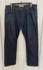 Gap Men's Kaihara Japanese Denim Raw Selvedge 38 x 32 Jeans