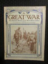 1918 Dec 7 THE GREAT WAR Newspaper Magazine Part 225 VG+ 4.5 World War WW1