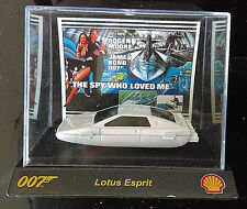 SHELL Garage JAMES BOND 007 The Spy Who Loved Me LOTUS ESPRIT with Display Case