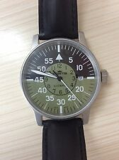 Fortis Men Cockpit Automatic Swiss Watch Military Style