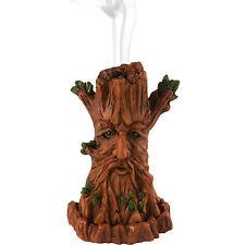 ALBERO CONO bruciatore di incenso titolare Wicca Pagan Green Man Torre Regalo by Lisa Parker