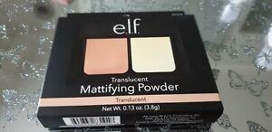 E.L.F. ELF Translucent Mattifying Powder 3.8g Long Lasting Shine Free Vegan BN&B
