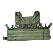 Bulldog LMR M4 223 MOLLE Modular Chest Rig Pouch Carrier Vest Webbing OD Green