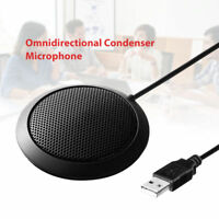 USB Omni-Directional Conference Micphone Speakerphone for Skype Office Amplifier