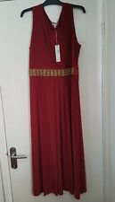 Ladies PER UNA Dress Size 20 Red Smart Party/ Evening Brand new with tags
