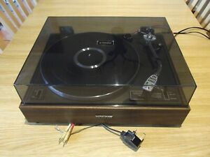 PIONEER PL-12D BELT DRIVE TURNTABLE SHURE 75ED CARTRIDGE FULLY SERVICED EXC GWO
