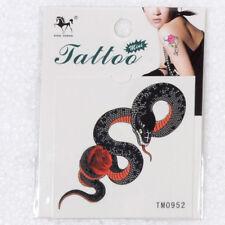 Snake Stlye Temporary Tattoo Arm Body Art Removable Waterproof Tattoos Sticker