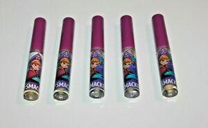 Liquid Lip Smacker Lip Gloss Raspberry Sorbet Flavor Lot Of 5 New/UNSEALED