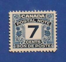 1932 7c CANADA POSTAL NOTE SCRIP REVENUE VD # FPS9 B # 9 UNUSED NH       CS15786