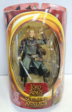 The Lord Of Rings Two Towers: Legolas Action Figure (2002) Toy Biz New