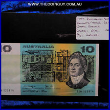 1979 Australian Ten Dollar Notes Unc Knights/Stone, Gothic Serials