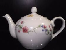 BIA Cordon Bleu Teapot Floral Trellis with butterfly and Lid Nice Individual