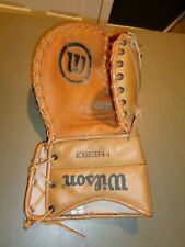 Wilson H-8383 Pro Ice Hockey Trapper Glove Goalie Leather