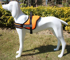 Soft Padded Non Pull Service Dog Harness Vest - Small Medium Large Extra Big