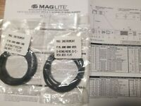 3 EACH New Maglite D Mag Flashlight O RING PART 400-000-005