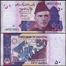 Pakistan 50 Rupees 2017 , Unc , P-56 , New Sign