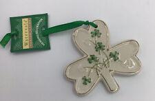 Watervale Porcelain Shamrock Hanging Ornament Ireland St. Patricks Day