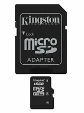Kingston 16GB Micro SD HC & Adapter Retail Pack Micro SDHC Class 4 High Speed