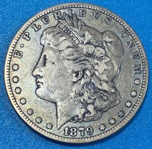"1879S United States ""Morgan Dollar"" 0.900 Silver Coin"