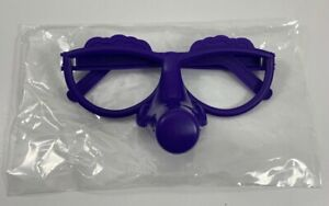 Fibber Board Game Replacement Parts Only Pieces Purple Glasses