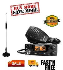40-Channel Bearcat Compact CB Radio and Tram 703-HC Center Load CB Antenna Kit