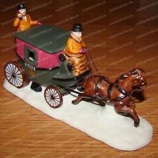 Dover Horse Drawn Coach (Dept. 56, Heritage Village Accessories, 6590-0) 1988