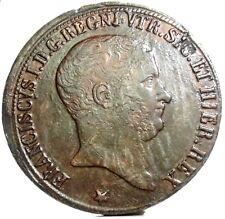 Napoli-Due Sicilie (Francesco I di Borbone) 10 Tornesi 1825