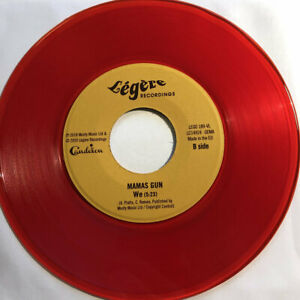 """Indemand! Mamas Gun  - This Is The Day - Limited Press Red Vinyl 7"""" Single"""