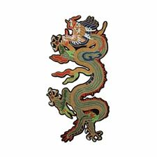 Chinese Dragon (Iron On) Embroidery Applique Patch Sew Iron Badge